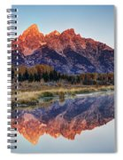 Brilliant Cathedral Spiral Notebook