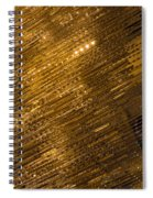 Brilliant Gold And Gems And Jewels Spiral Notebook