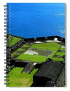 Brimstone Fortress St Kitts Spiral Notebook