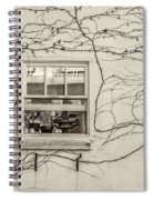 Bring On Spring Sepia Spiral Notebook