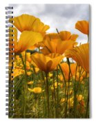 Bring On The Poppies Spiral Notebook