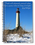 Bring Truth To Light  Spiral Notebook