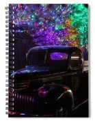 Bringing Home The Tree Spiral Notebook