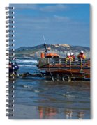 Bringing In The Lifeboat Spiral Notebook