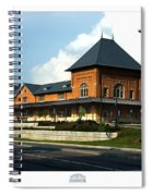 Bristol Train Station Bristol Virginia Spiral Notebook