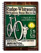 Britains Best Bicycle Spiral Notebook