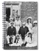 British And Russian Royals Spiral Notebook
