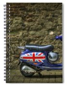 British At Heart Spiral Notebook