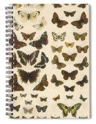 British Butterflies Spiral Notebook