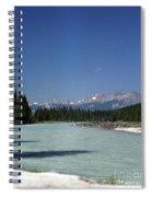 British Columbia Rockies Spiral Notebook