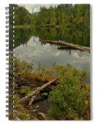 British Columbia Starvation Lake Spiral Notebook