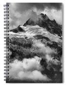 British Columbia Tantalus Mountain Range Spiral Notebook