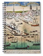 British Landing, 1768 Spiral Notebook