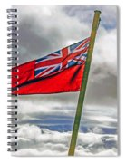 British Merchant Navy Flag Spiral Notebook