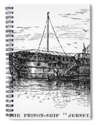British Prison Ship, 1770s Spiral Notebook