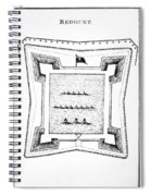 British Redoubt, 1777 Spiral Notebook