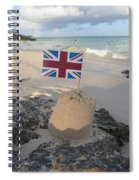 British Sandcastle Spiral Notebook