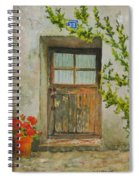 Brittany  Door Spiral Notebook