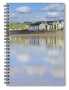 Broad Haven Clouds Spiral Notebook