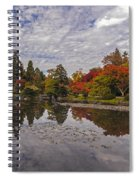 Broad Skies And Fall Colors Spiral Notebook