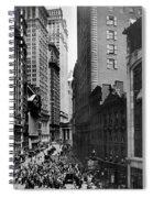 Broad Street, C1916 Spiral Notebook