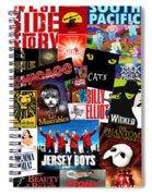 Broadway 1 Spiral Notebook