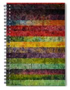 Brocade And Stripes Tower 1.0 Spiral Notebook
