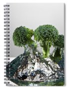 Broccoli Freshsplash Spiral Notebook