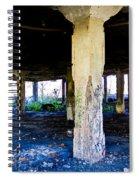 Broken Columns Spiral Notebook