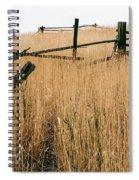 Broken Down Fence Spiral Notebook