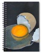 Broken Egg Spiral Notebook