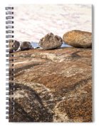 Broken Glacial Erratics Spiral Notebook