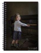 Broken Hearted Melody Spiral Notebook