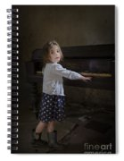 Broken Hearted Melody Spiral Notebook