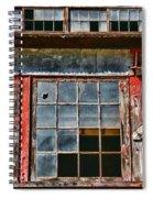 Broken Windows Spiral Notebook