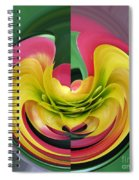 Bromiliad Abstract Spiral Notebook