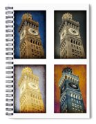 Bromo Seltzer Tower Quad Spiral Notebook
