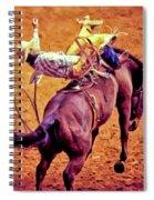 Bronco Bustin Spiral Notebook