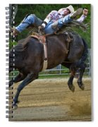 Bronco Cowboy Spiral Notebook