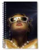 Bronze Beauty - Featured In Comfortable Art Group Spiral Notebook