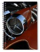 Bronze Beauty Spiral Notebook
