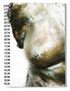 Bronze Bust 1 Spiral Notebook