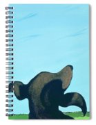 Bronze Profile #2, 1997 Spiral Notebook