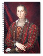 Bronzino's Eleonora Di Toledo Spiral Notebook