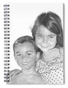 Brooke And Carter Spiral Notebook