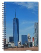 Brooklyn Bridge And Lower Manhattan Spiral Notebook