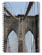 Brooklyn Bridge Cables Nyc Spiral Notebook