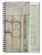 Brooklyn Bridge: Diagram Spiral Notebook