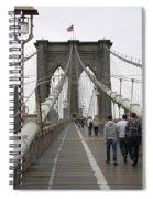 Brooklyn Bridge II Spiral Notebook