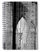 Brooklyn Bridge New York City Usa Spiral Notebook